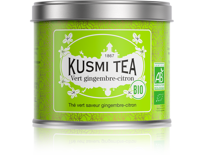 Green Ginger-Lemon -Kusmi Tea 100g LUOMU
