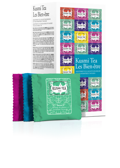 Wellness -teepussit 24kpl Kusmi Tea