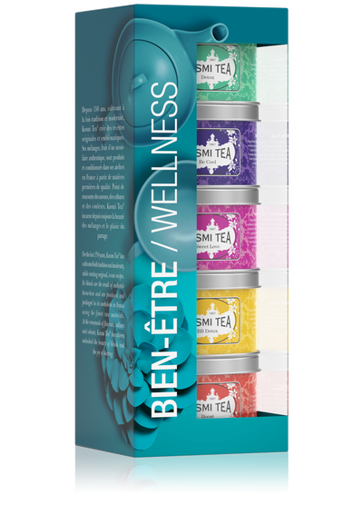 Wellness -Miniatures teepakkaus -Kusmi Tea