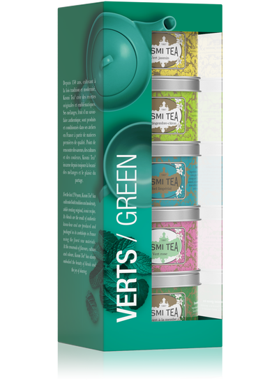 Greens teepakkaus -Kusmi Tea