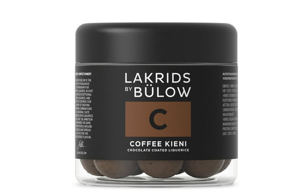 Lakrids by Bulow C -Coffee Kieni 125g GLUTEENITON