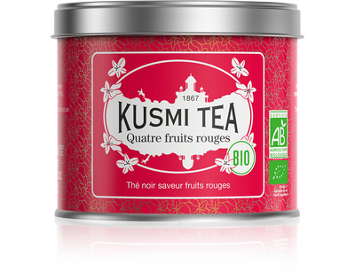 Four Red Fruits -Kusmi Tea 100g LUOMU